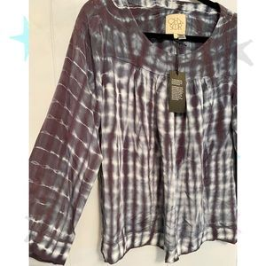 NWT Chaser Vintage Wash Blouse